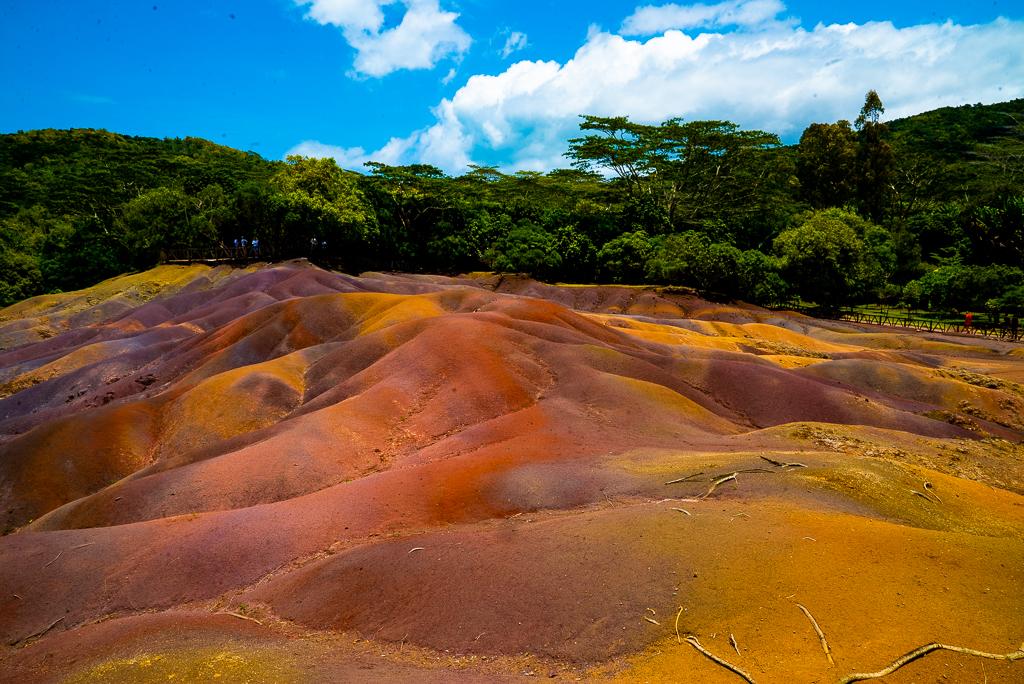 7 coloured earth mauritius