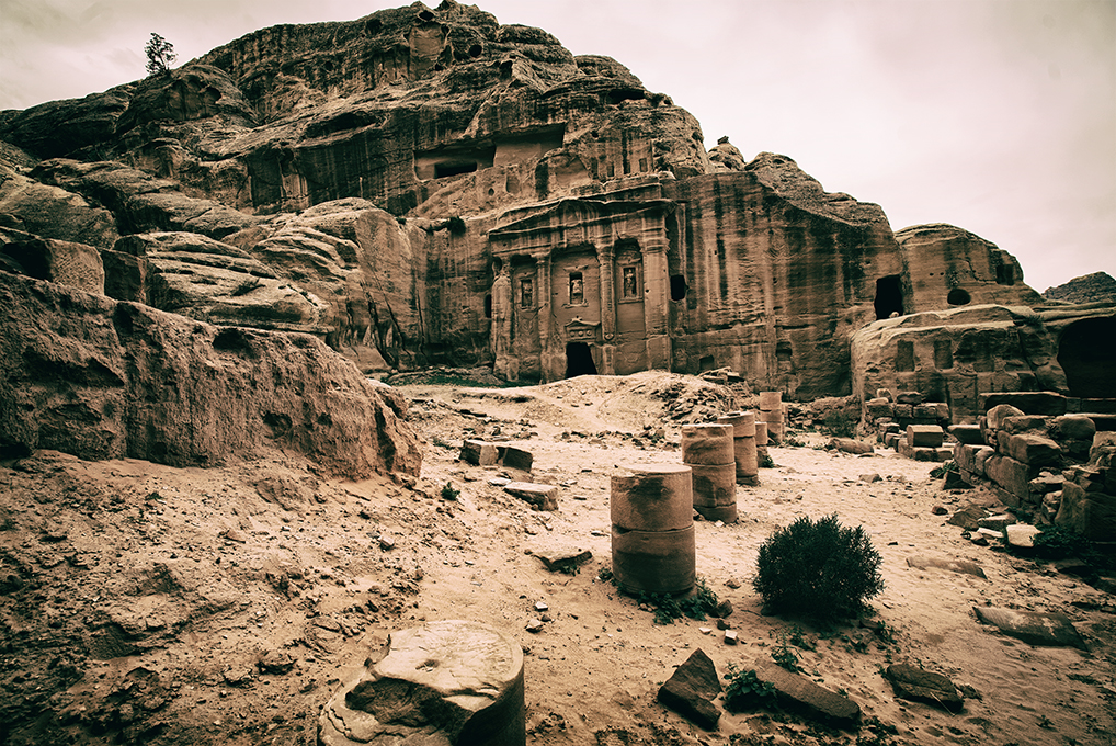 sentiero del Sacrificio tomba del soldato romano