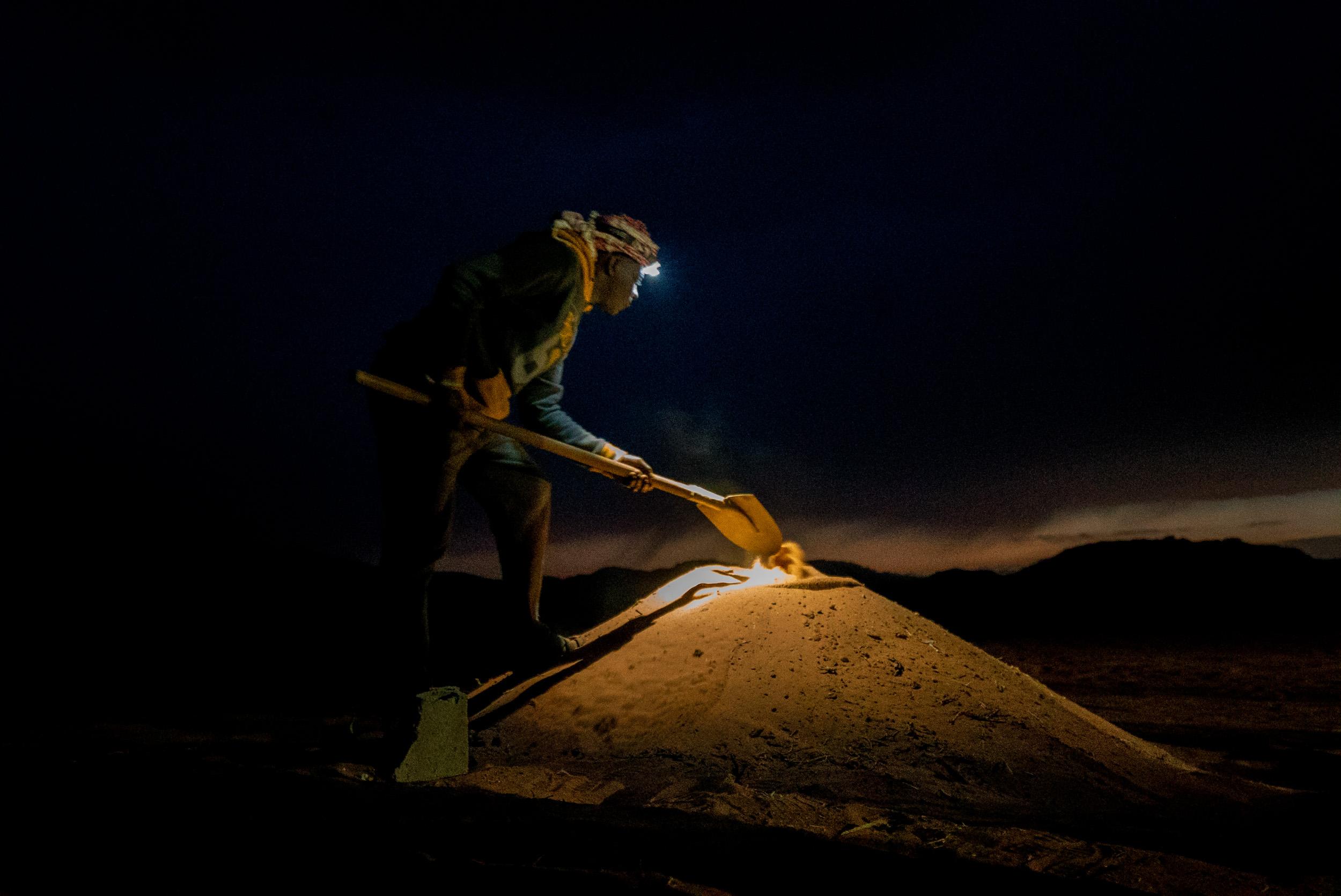 dormire nel deserto di wadi rum